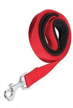 Vodítko pes SOFT NYLON červené 20mm/1m Zolux