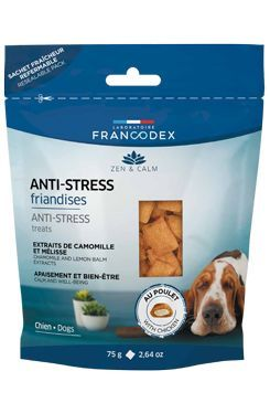 Francodex Pochoutka Anti-stress pes 75g