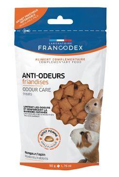 Francodex Pochoutka Odour care hlodavci 50g