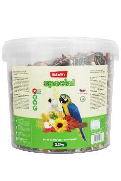 Darwin's velký papoušek special vědro 2,2kg