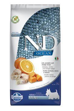 N&D OCEAN DOG Adult Mini Codfish&Pumpkin&Orange 7kg