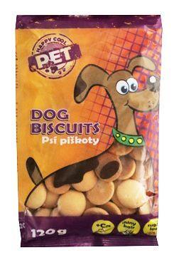 Piškoty Happy Cool Pet s vápníkem pro psy 120g
