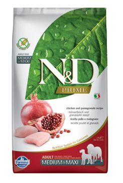 N&D PRIME DOG Puppy M/L Chicken & Pomegranate 2,5kg