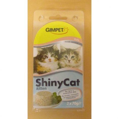 Shiny cat 2x70g kuře kitten