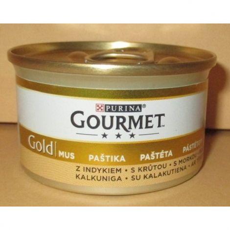 Gourmet  85g gold paštika krůta cat/24ks  94
