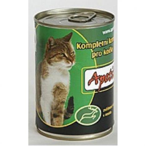 Apetit 410g zvěřina cat 1ks/24ks