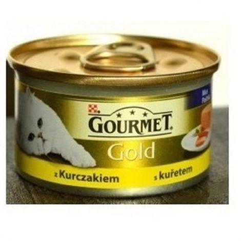 Gourmet  85g gold paštika kuře cat/24ks 94