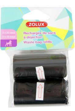 Sáčky na psí exkrementy 2x20ks Zolux