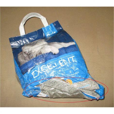 Poškozený Stel.Brit 4,3kg fresh for cats excellent ultra bentonite