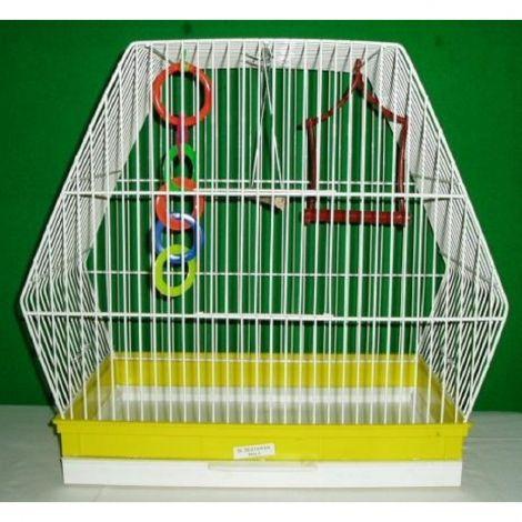Klec ptačí šestihranná 37,5x23,5x41