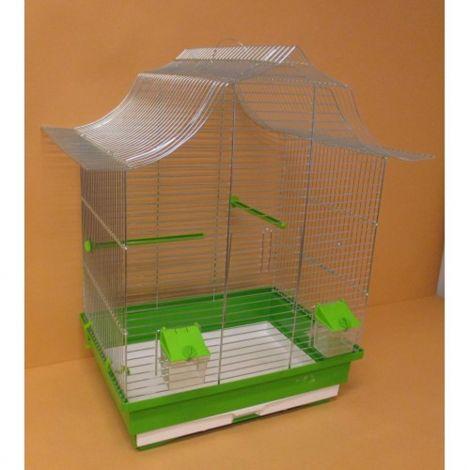 Klec papoušek pozink 45x32x64cm