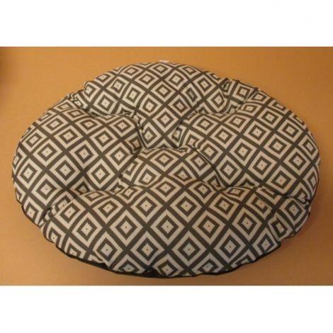 Polštář ovál Modern 86x70cm  béžová mozaika