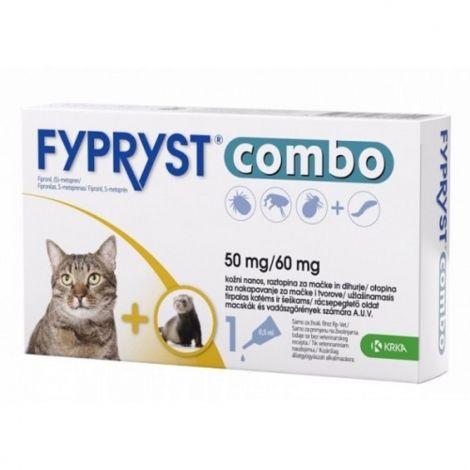 Fypryst combo spot-on 50/60mg kočka a fretka 94