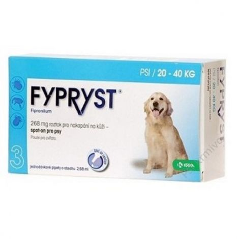 Fypryst spot-on dog L sol 1x2,68ml