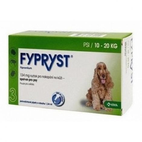 Fypryst spot-on dog M sol 1x1,34ml