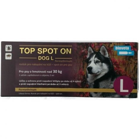 Top spot on Dog L 1x3ml(nad 30kg)