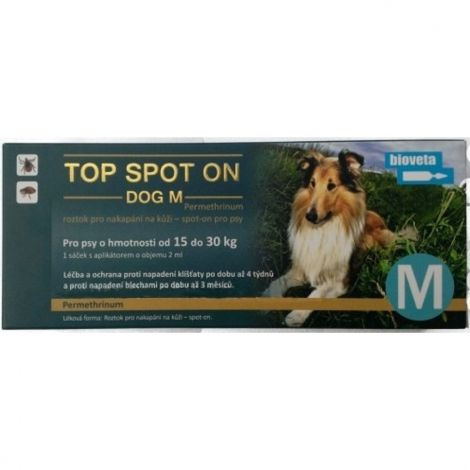 Top spot on Dog M 1x2ml (nad 15kg)