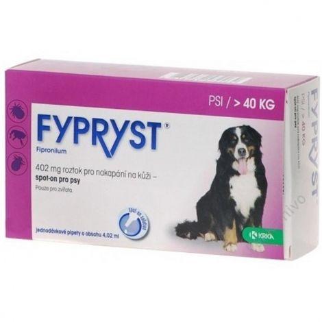 Expirace Fypryst spot-on dog XL sol 1x4,02ml