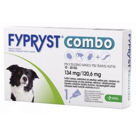 Expirace Fypryst combo spot-on 134/120,6mg pes 10-20kg  94