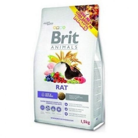 Expirace Brit animals 1,5kg potkan adult complete
