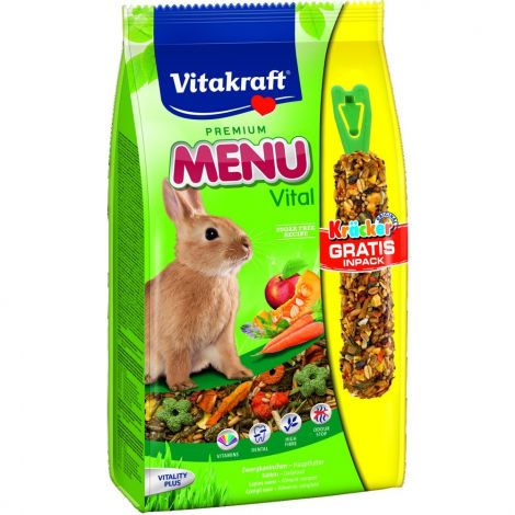 Menu vital králík + Kracker 1kg/5ks