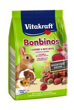 Vitakraft Rodent Rabbit poch. BonBinos Rote Bete 40g