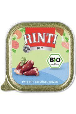Rinti Dog BIO vanička drůbeží srdíčka 150g