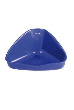 WC pro hlodavce rohové malé 16x7x12cm TR 1ks