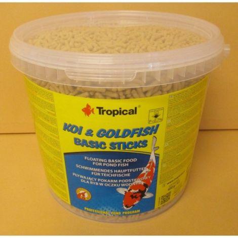 Tropical Koi-Goldfish Basic Sticks 5l kbelík