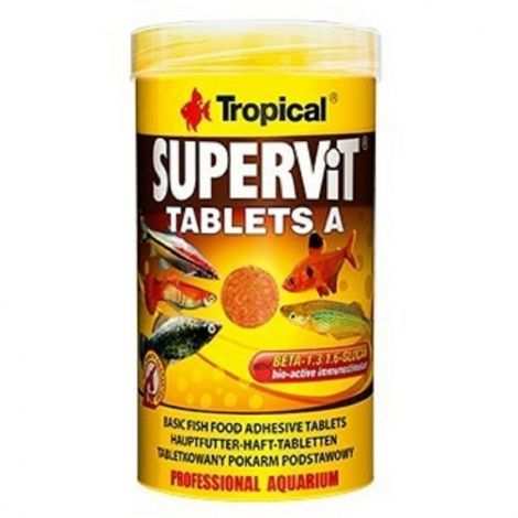 Tropical Supervit  250ml tablety A na sklo