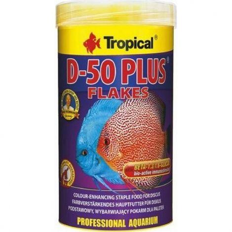 Tropical D-50 Plus 1000ml vločky pro terčovce