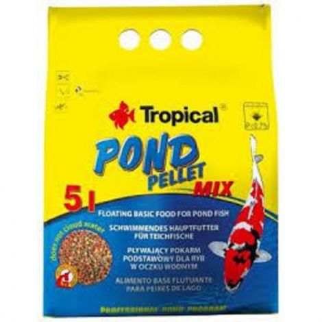 Tropical Pond Sticks Mixed  5l sáček