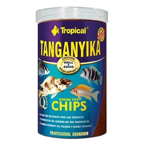 Tropical Tanganyika chips 1000 ml