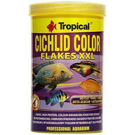 Tropical Cichlid color vločky XXL 1000 ml