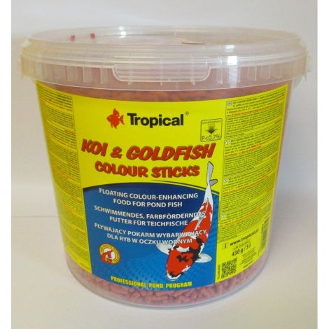 Tropical Koi-Goldfish Colour Stick 5l/430g  kbelík