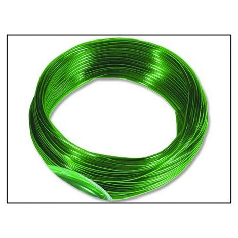 Hadička vzduch. 4/6mm zelená/1m (bal.25m)
