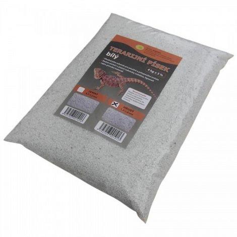 Terarijní písek bílý 4kg hrubý Robimaus