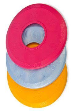 Hračka pes Disk MAX aport plovací Vanil. 25cm SP