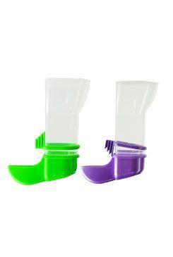 Krmítko plastové automatické malé pro ptáky,exoty  SP