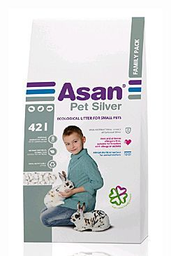 ASAN Pet Silver hlodavce a králíčky 42l