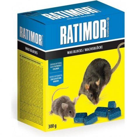 Ratimor parafinové bloky 300g krab.