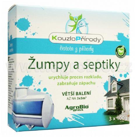 KP Žumpy a septiky  3x100g