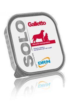 SOLO Galleto 100% (kohoutek) vanička 300g