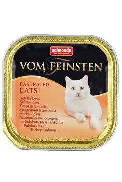 Animonda paštika pro Kastráty  krůta/losos kočka 100g