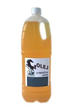 Olej z tresčích jater pro koně ZEUS 2l