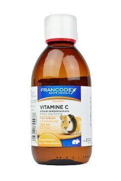 Francodex Vitamín C kapky morče 250ml