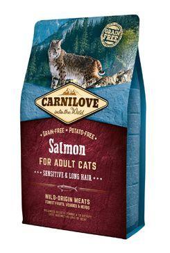 Carnilove Cat Salmon for Adult Sensitiv & LH  2kg