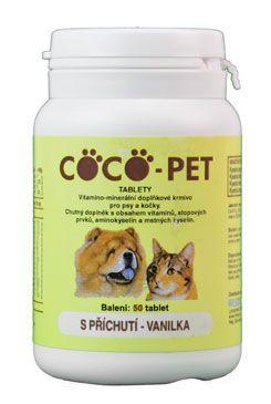 Coco Pet vanilka 50tbl