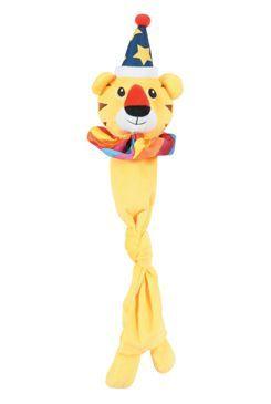 Hračka pes BIG TIGER plyš žlutá 50cm Zolux