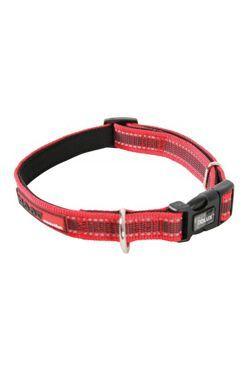 Obojek pes MOOV nastavitelný červená 40mm 51-67cmZolux